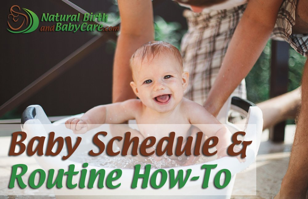 Baby Schedule and Routine How To