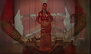 prenatal belly dance routine with Dance of the Womb