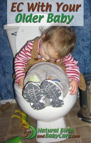 Older Baby on the Potty for Elimination Communication