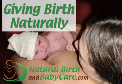 Giving Birth Naturally Banner