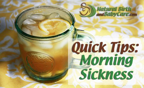 Morning Sickness tip banner