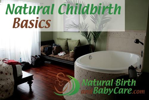Natural Childbirth Basics Banner