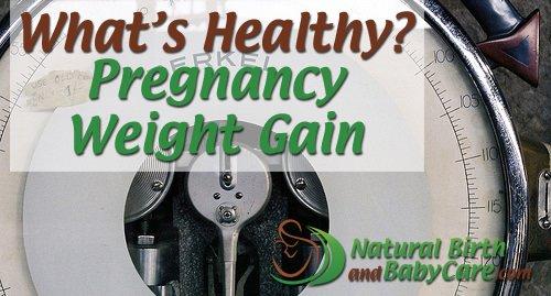 Pregnancy Weight Gain Banner