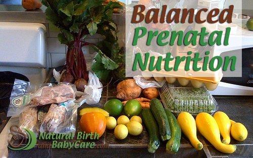 Balanced Prenatal Nutrition Banner