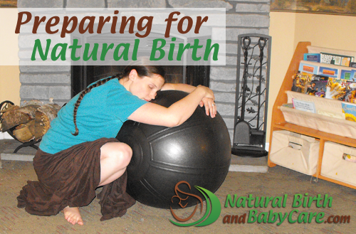 banner image for preparing for natural birth article