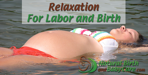 Banner for Relaxation for Labor and Birth Article
