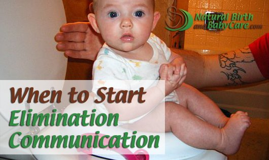 little one begins elimination communication after good head support