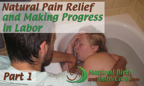 Banner for Natural Pain Relief in Labor article