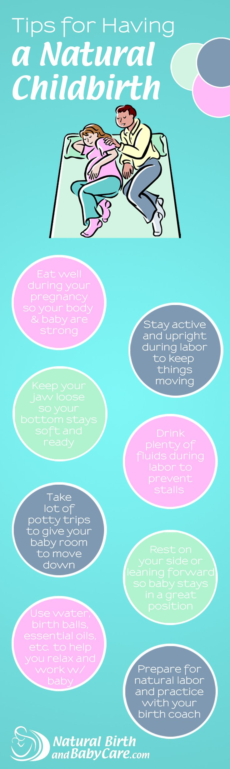 Tips for a Natural Childbirth
