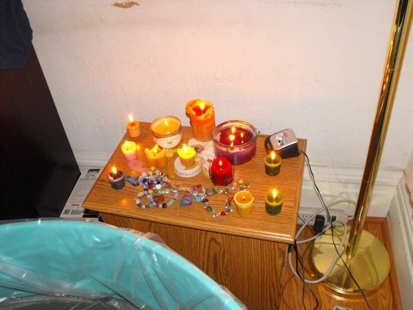 Birth Candles and Beads