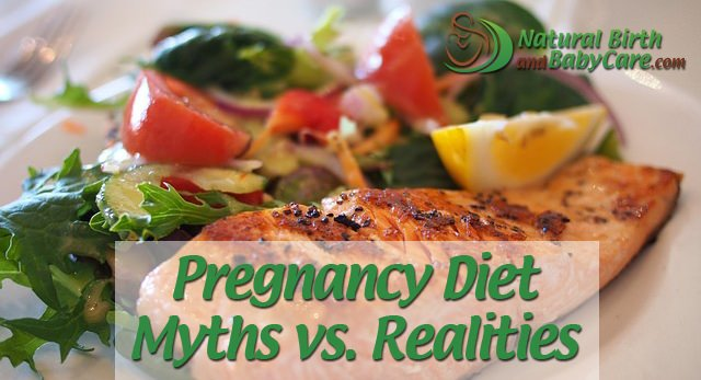 Pregnancy Diet Myths vs  Realities | Natural Birth and Baby