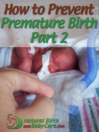 Prevent Premature Birth: Nutrition