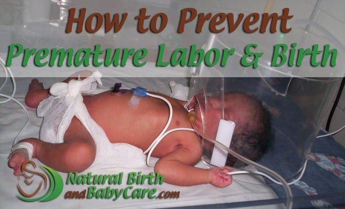 Prevent Premature Labor and Birth