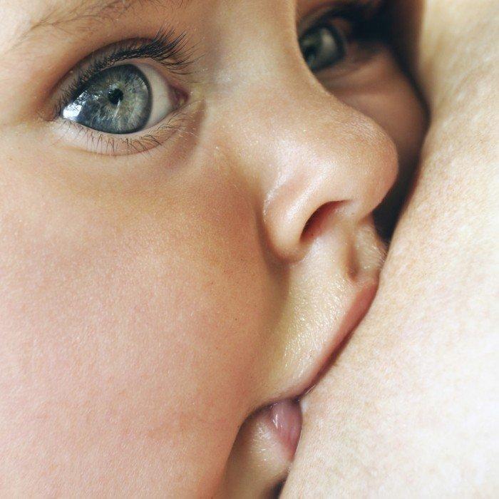 Breathtaking Breastfeeding Picture