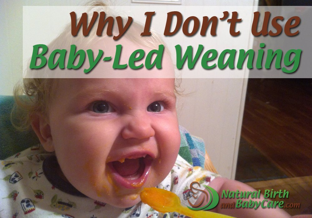 Rules of baby led weaning