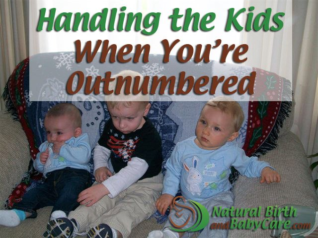 Handling the Kids When You're Outnumbered