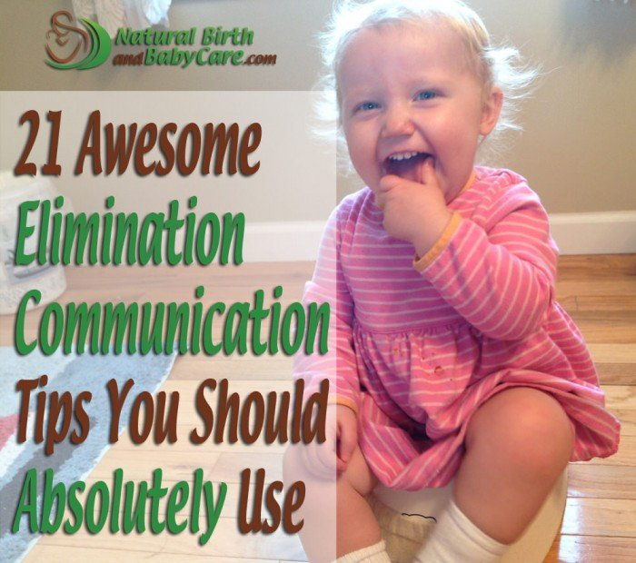 21 Awesome Elimination Communication Tips