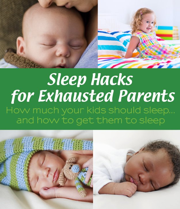 Sleep Hacks for Exhausted Parents