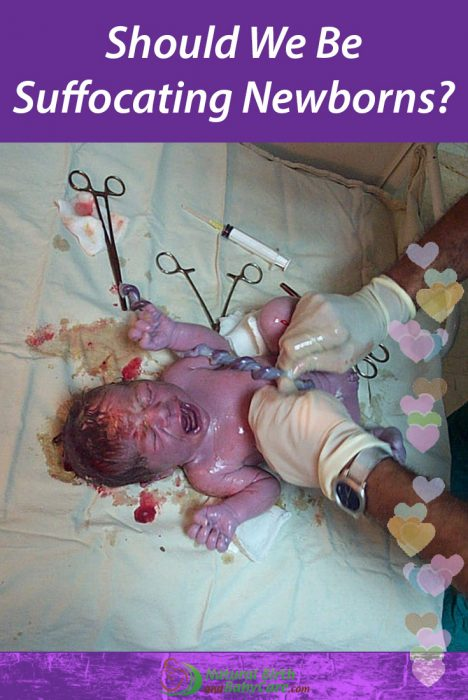 Cord Clamping Suffocating Babies