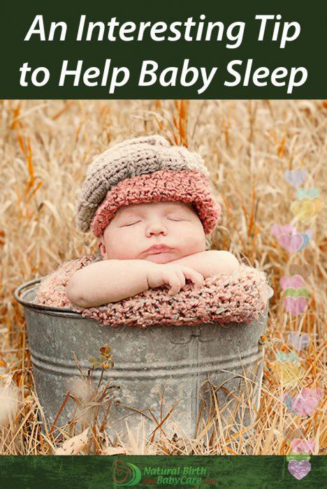 Interesting Baby Sleep Tip
