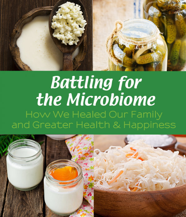 Battling for the Microbiota