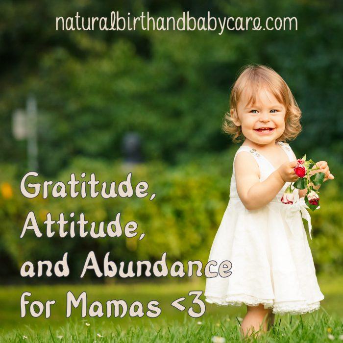 Finding Gratitude as a Mama