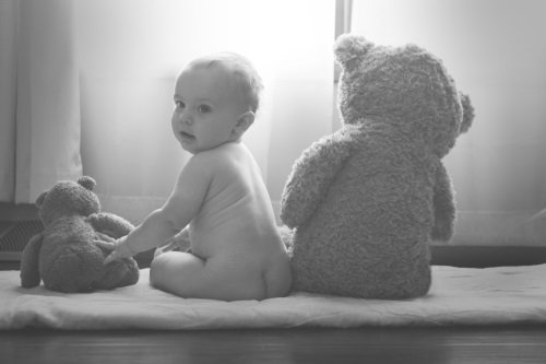 Good posture in baby