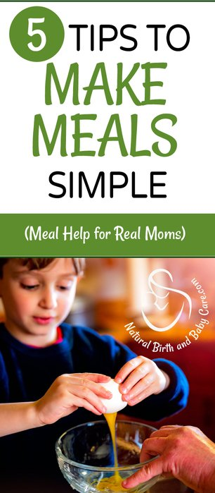 5 Tips to Make Meals Simple