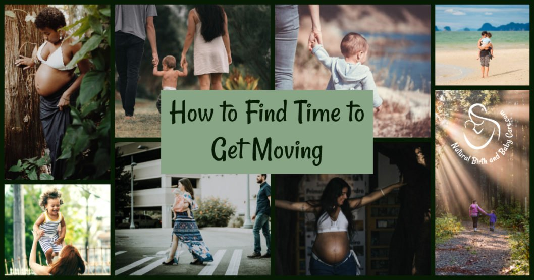How Mamas Can Get Moving