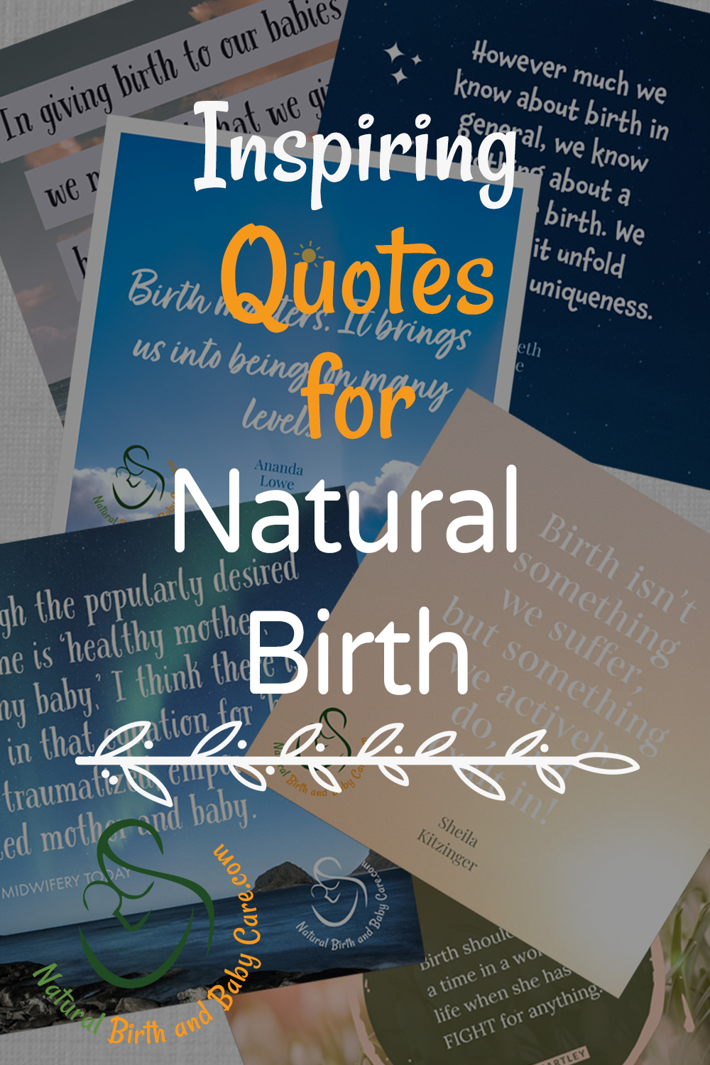 Inspiring Quotes for Giving Birth Naturally