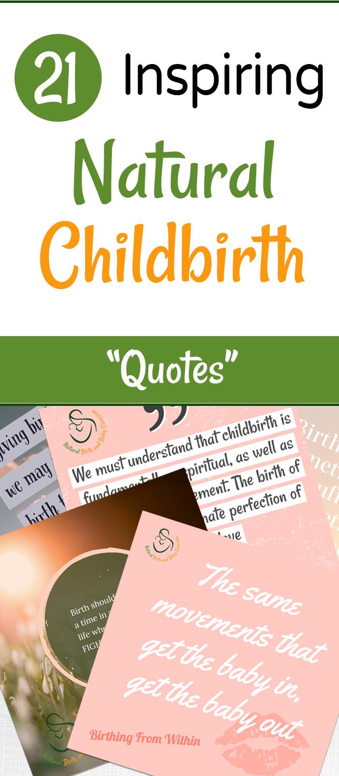21 Inspiring Natural Birth Quotes