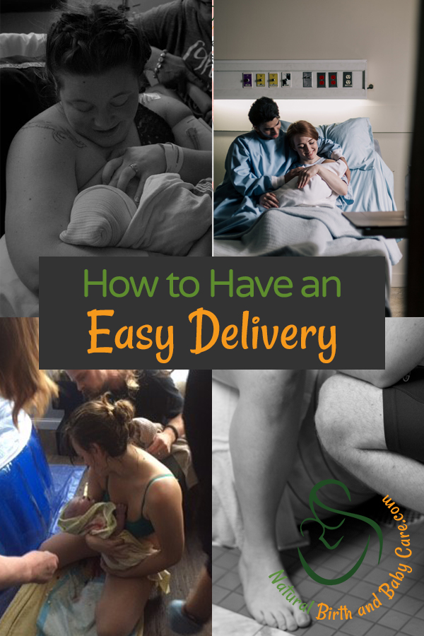 natural birth who have had easy deliveries
