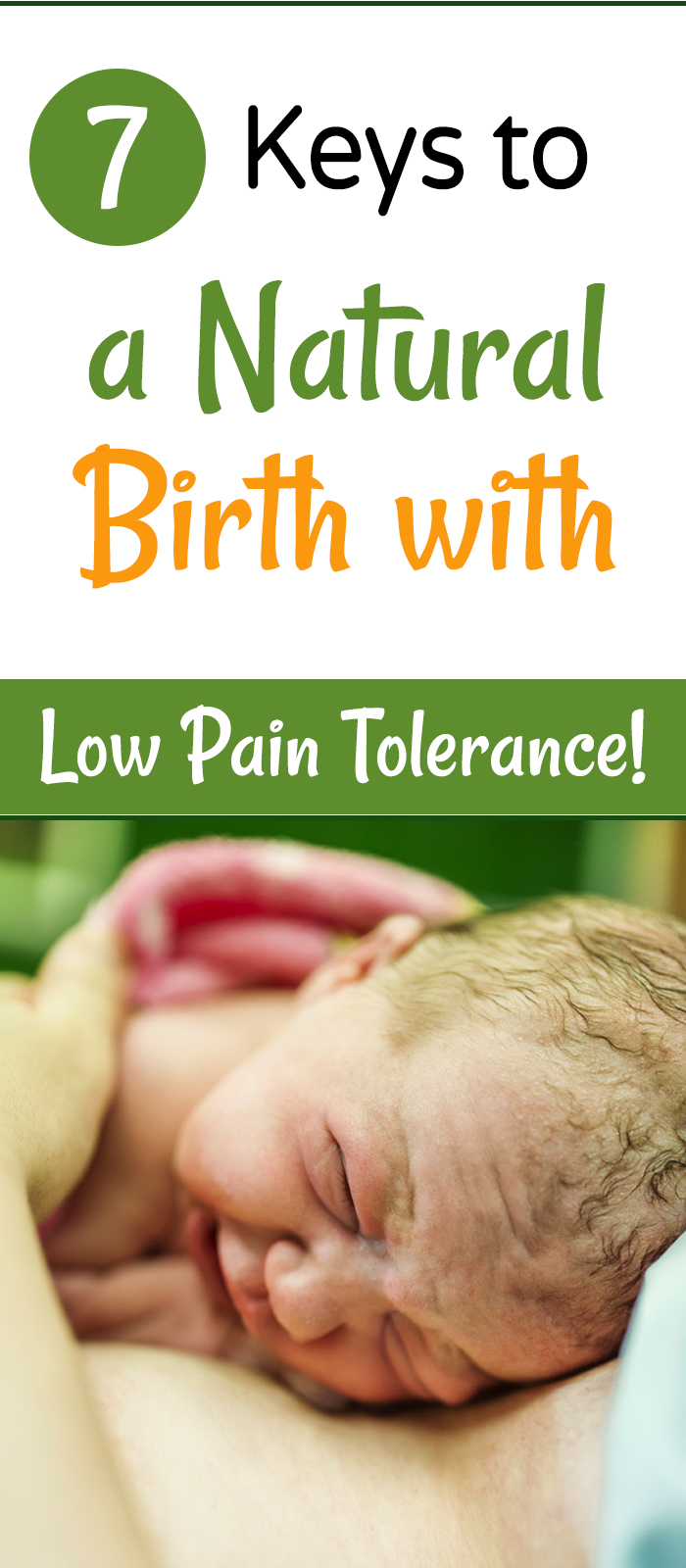 Key to Labor and Delivery with Low Pain Tolerance