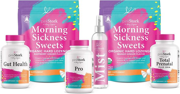 Product picture of Pink Stork morning sickness bundle